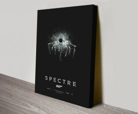 Buy a Stretched Canvas Spectre 007 Poster Print