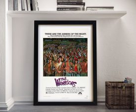 Buy The Warriors Vintage Movie Poster Artwork