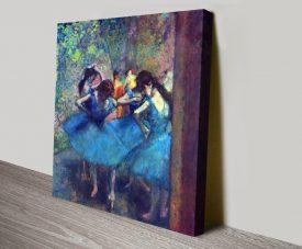 Dancers #1 Classic Degas Wall Art Print