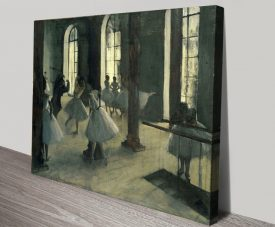 Buy The Rehearsal Classic Art Print on Canvas