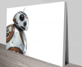 BB8 Star Wars Droid Poster Print