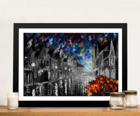 Frozen Night Leonid Afremov Wall Art