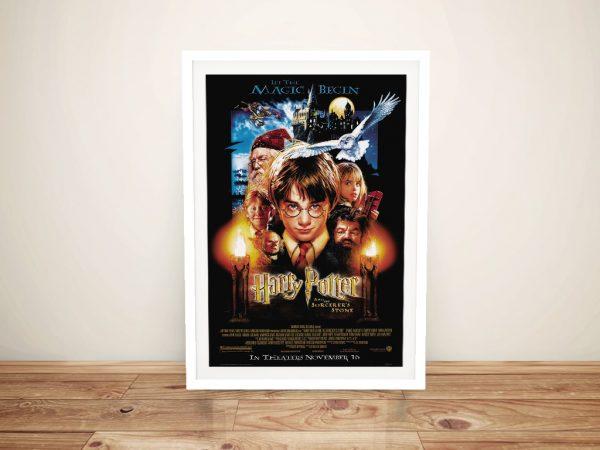 Framed Harry Potter Movie Poster Art Cheap Online