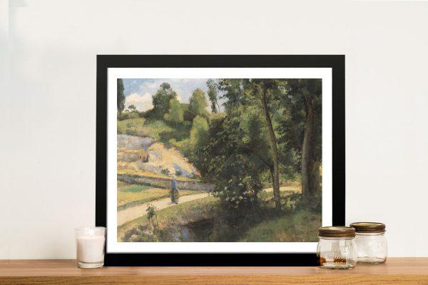 La Carrière Pontoise Classic Print on Canvas