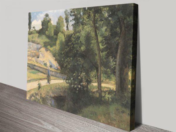 La Carrière Pontoise Ready to Hang Camille Pissarro Art