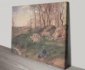 Carrières du Chou Classic Camille Pissarro Art