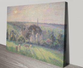 Paysage à Éragny Classic Landscape Wall Art