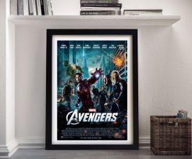 The Avengers Framed Movie Poster