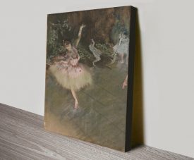 Buy The Star by Degas Canvas Wall Art