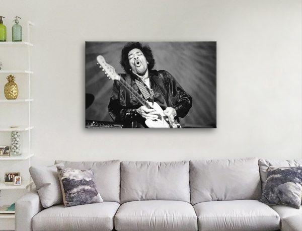 Jimi Hendrix Canvas Prints Great Gift Ideas Online