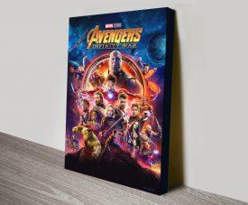 Avengers Infinity War Movie Poster Wall Art