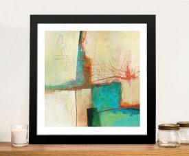 Buy a Framed Circles II Abstract Art Print