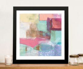 Fun Colours Cool Chromatic Canvas Print