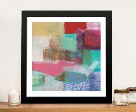Fun Colours I Framed Jane Davies Canvas Art