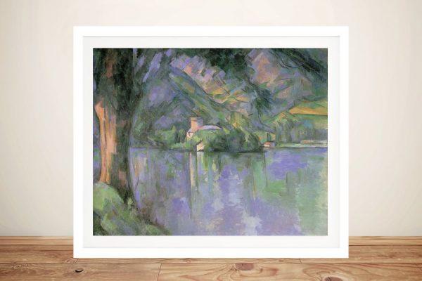 Le Lac d 'Annecy Framed Landscape Print