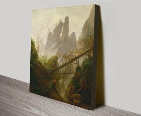 Rocky Landscape Stretched Canvas Classic Art