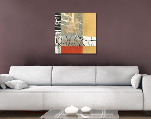 Yesterday by Anne Davies Affordable Abstract Art
