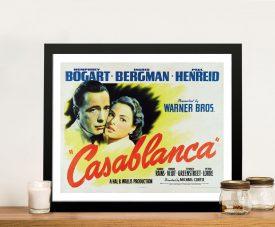 Casablanca Framed Poster Wall Art