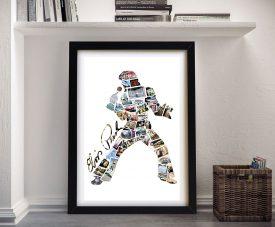 Personalised Elvis Photo Collage Wall Art