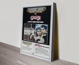 Classic Travolta Movie Posters on Canvas
