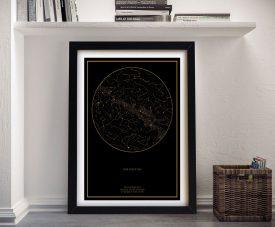 Buy Custom Star Maps for Memorable Events