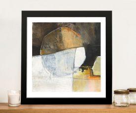 Jane Davies Abstract Pebble III Wall Art