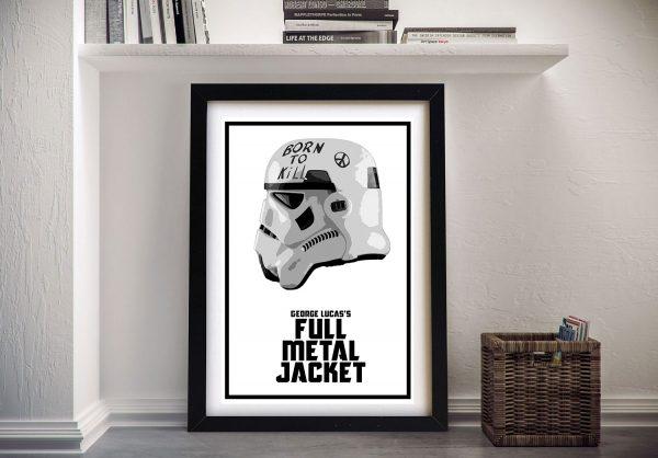 Stormtrooper Stanley Kubrick Style Pop Art