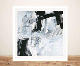 What's Happening V Framed Abstract Art