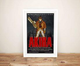 Akira Movie Poster Framed Wall Art