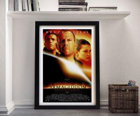 Framed Armageddon Movie Poster Print