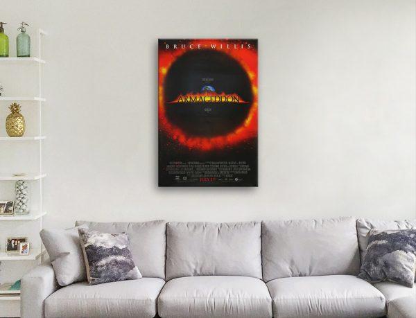 Armageddon Movie Poster Great Gift Ideas
