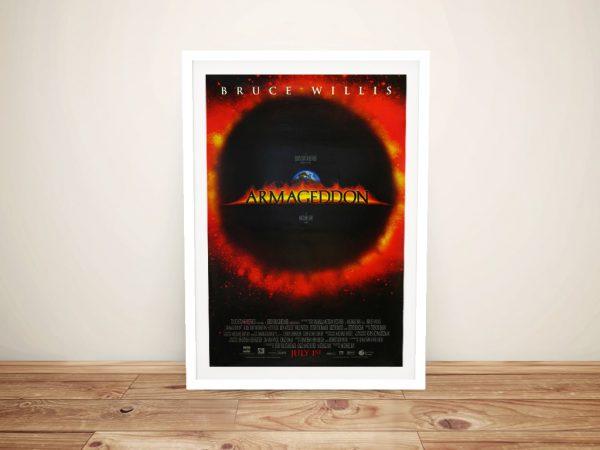 Armageddon Movie Poster Cheap Art AU