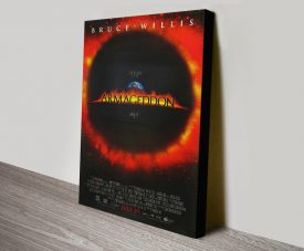 Buy an Armageddon Movie Poster on Canvas