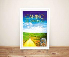 Camino De Santiago Framed Movie Poster