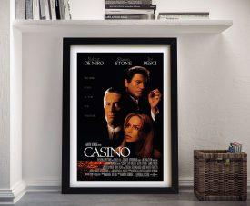 Buy a Casino Framed Movie Poster