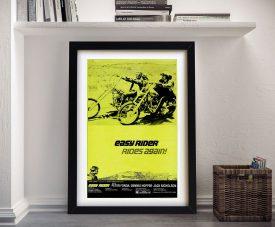 Easy Rider Movie Poster Framed Wall Art