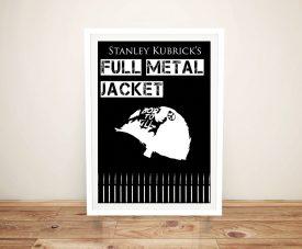 Full Metal Jacket Stanley Kubrick Movie Poster