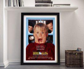 Home Alone Framed Movie Poster Artwork