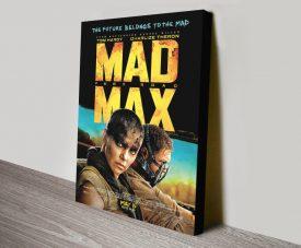 Mad Max Fury Road Canvas Poster Print