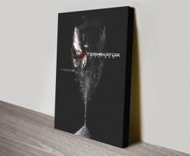Terminator Genisys Stretched Canvas Movie Poster