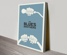 The Blues Brothers Movie Poster Canvas Print