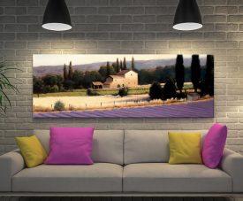 Lavender Fields ll James Wiens Panoramic Art
