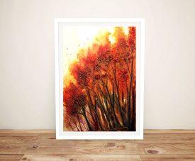 Autumn Blaze Linda Callaghan Canvas Art