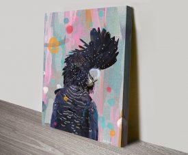 Black Cocky Extrovert Karin Roberts Artwork