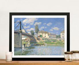 Buy Bridge at Villeneuve la Garenne Classic Art