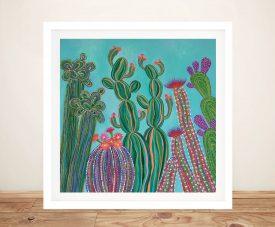 Cactus Party No.1 Fun & Colourful Wall Art