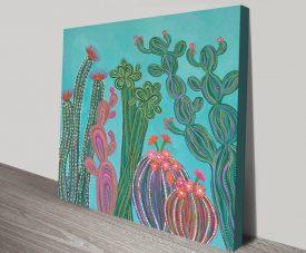 Cactus Party No.2 Contemporary Wall Art