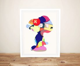 Buy a Framed No Ones Home KAWS Print