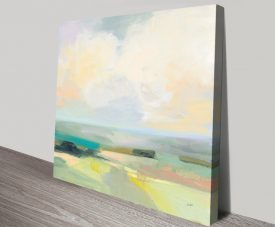Summer Sky lll Landscape Print on Canvas