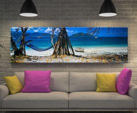 Island Life Panoramic Wall Art by Peter Lik
